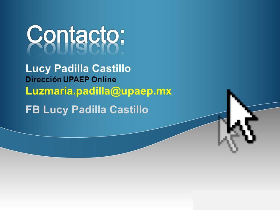 Contacto: Lucy Padilla Castillo Luzmaria.padilla@upaep.mx