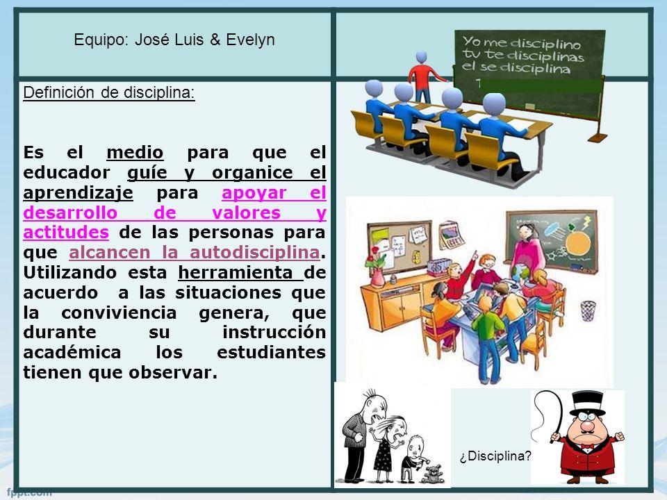 Equipo: José Luis & Evelyn