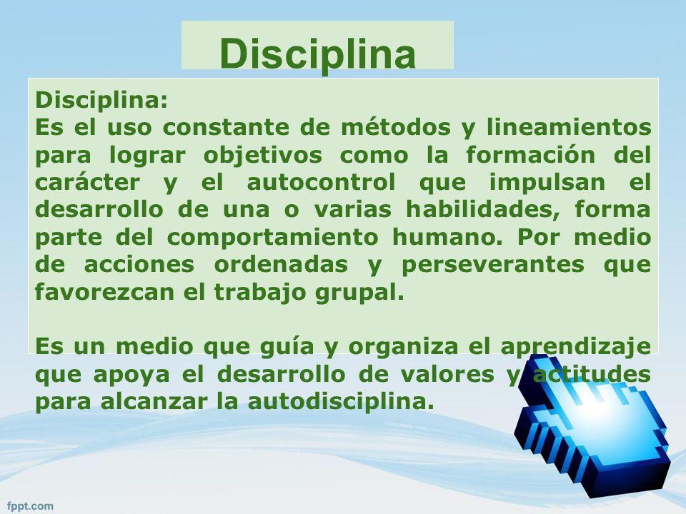 Disciplina Disciplina: