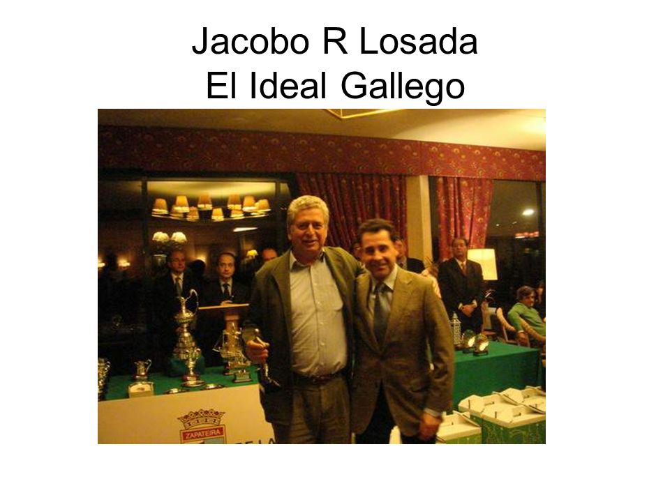 Jacobo R Losada El Ideal Gallego