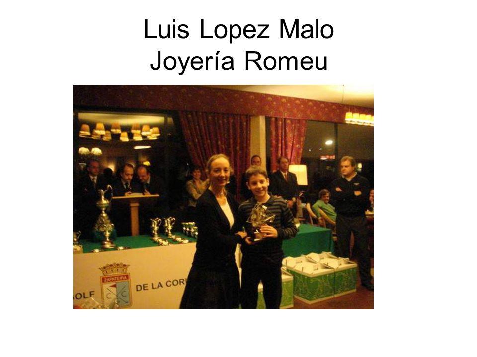 Luis Lopez Malo Joyería Romeu