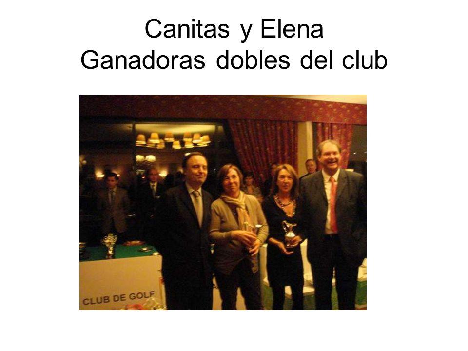 Canitas y Elena Ganadoras dobles del club