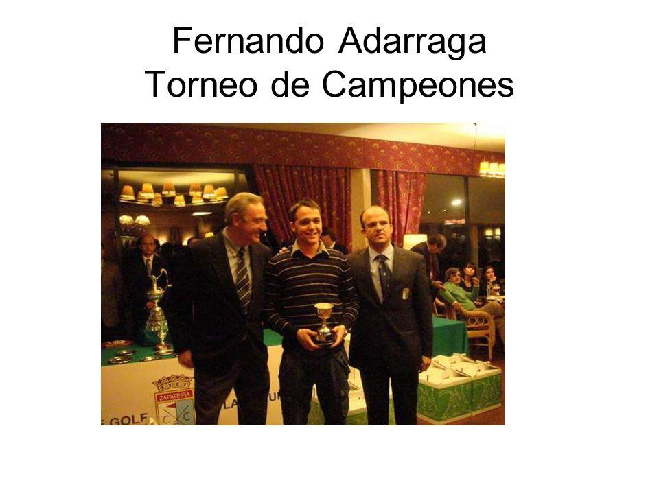 Fernando Adarraga Torneo de Campeones