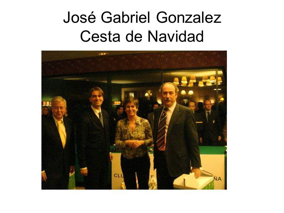 José Gabriel Gonzalez Cesta de Navidad