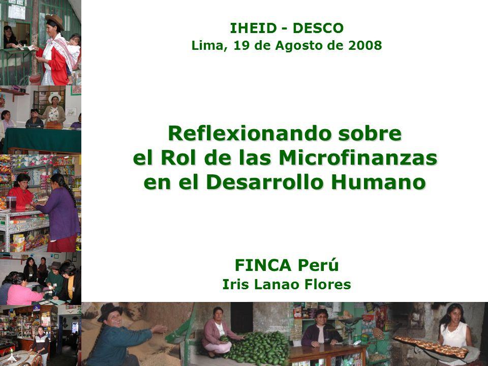 FINCA Perú Iris Lanao Flores