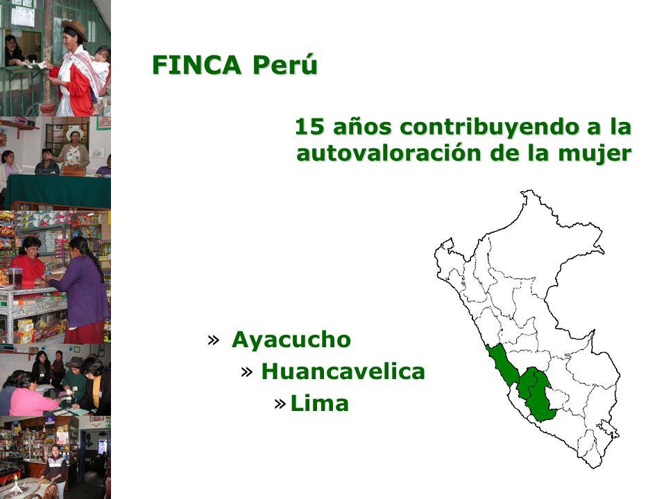 FINCA Perú 15 años contribuyendo a la autovaloración de la mujer
