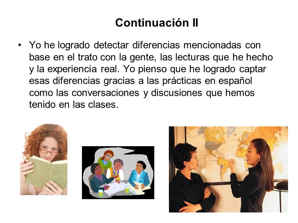 Continuación II