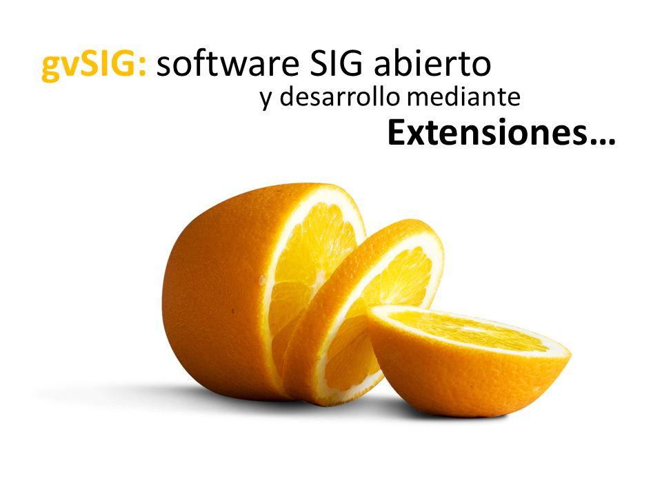 gvSIG: software SIG abierto