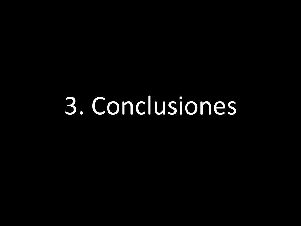 Lo que he contado 3. Conclusiones