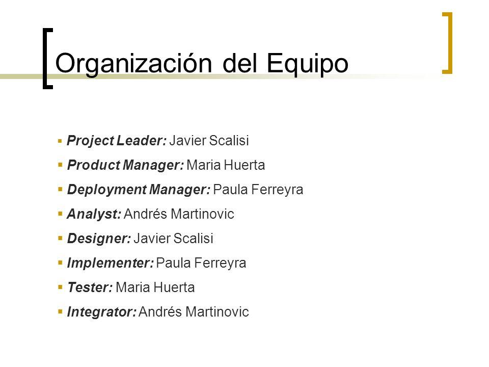 Organización del Equipo