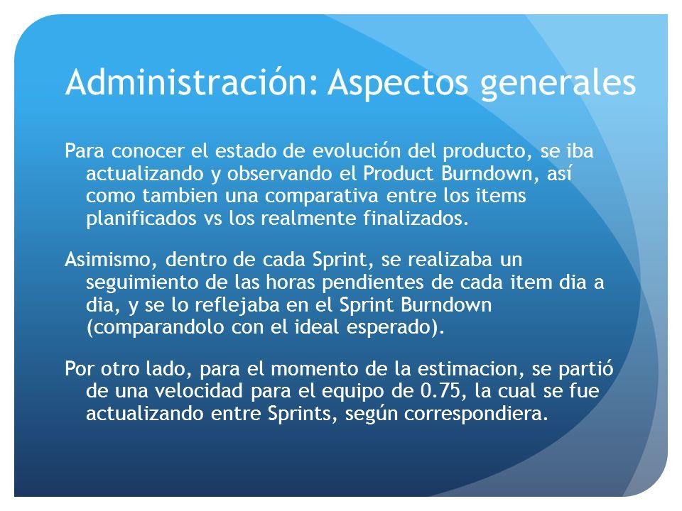 Administración: Aspectos generales