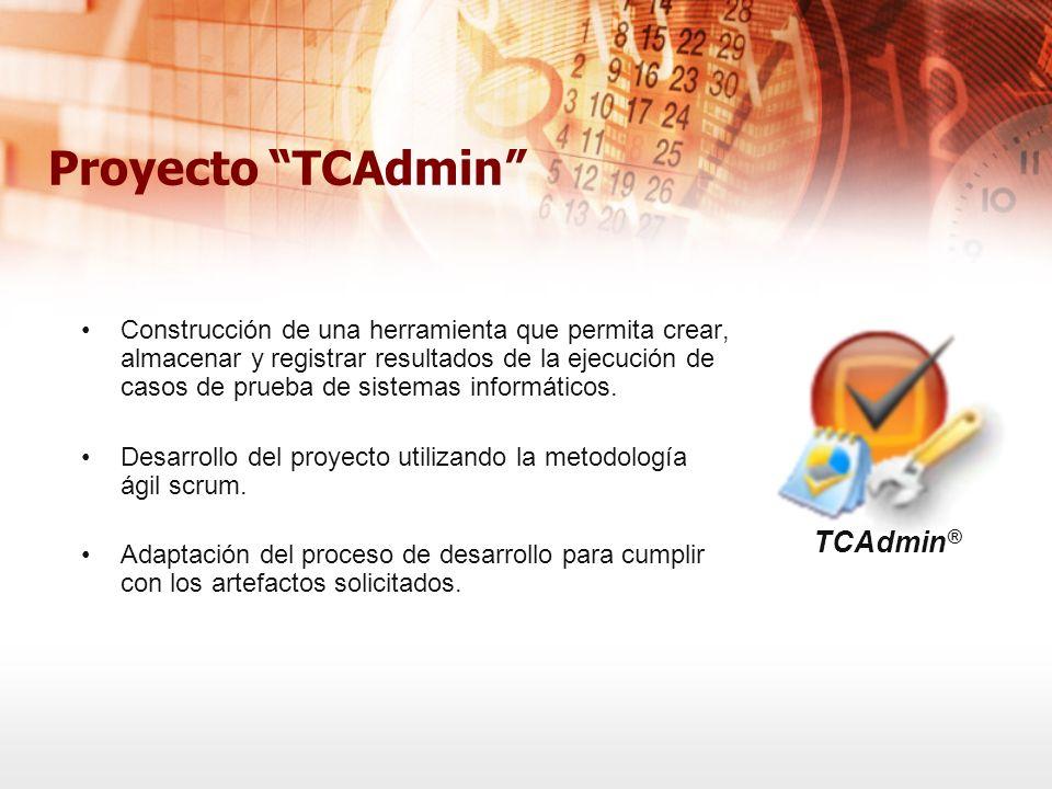 Proyecto TCAdmin TCAdmin®