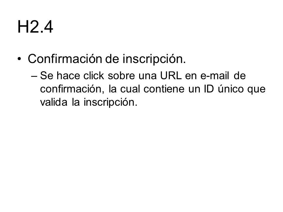 H2.4 Confirmación de inscripción.