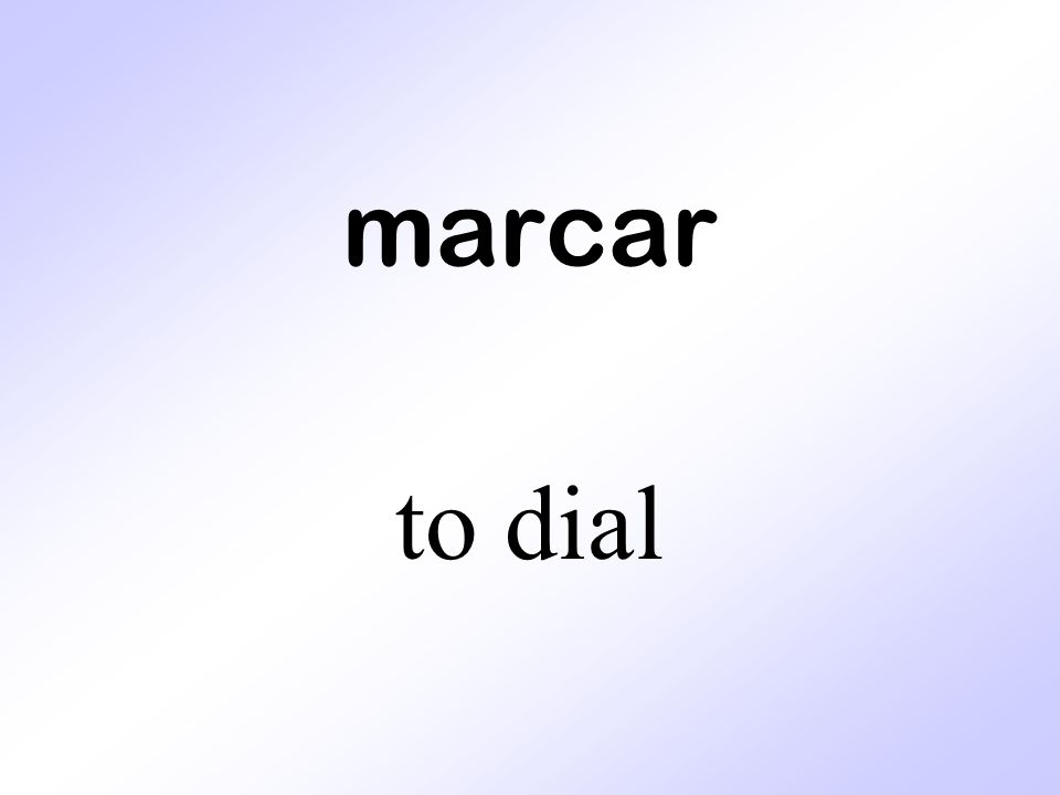 marcar to dial