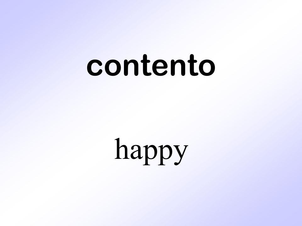contento happy