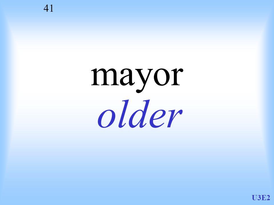 mayor older U3E2