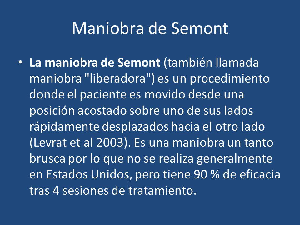 Maniobra de Semont