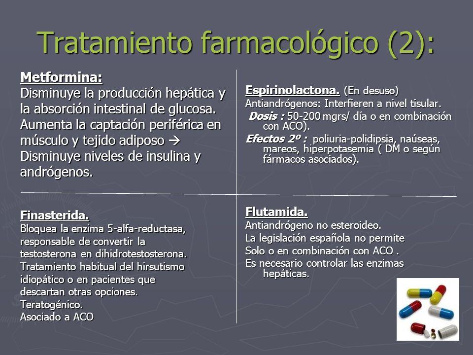 Tratamiento farmacológico (2):