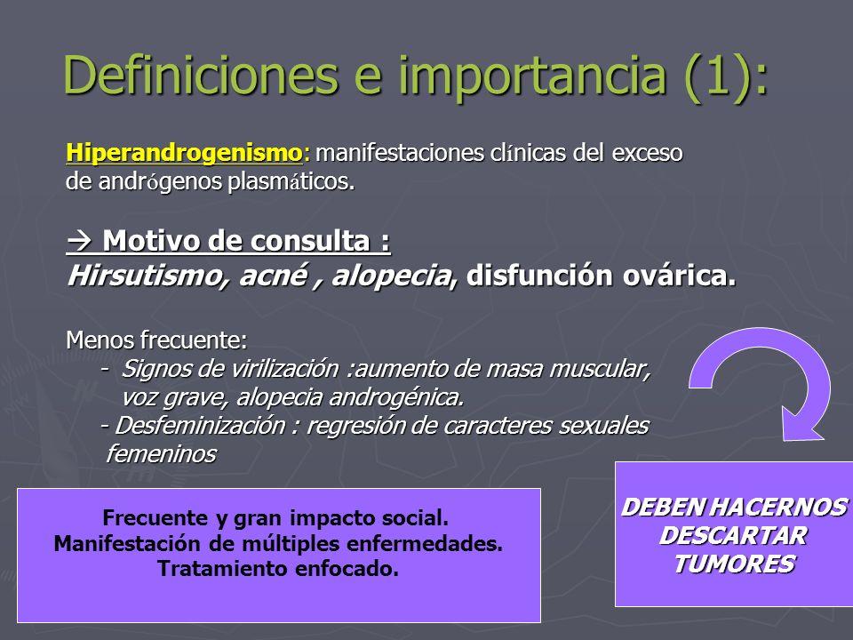 Definiciones e importancia (1):