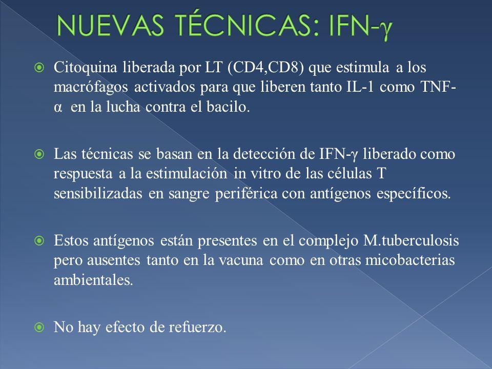 NUEVAS TÉCNICAS: IFN-γ