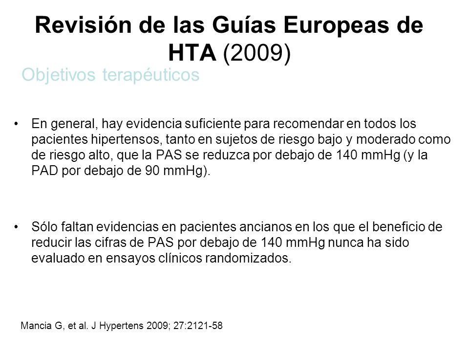 Revisión de las Guías Europeas de HTA (2009)