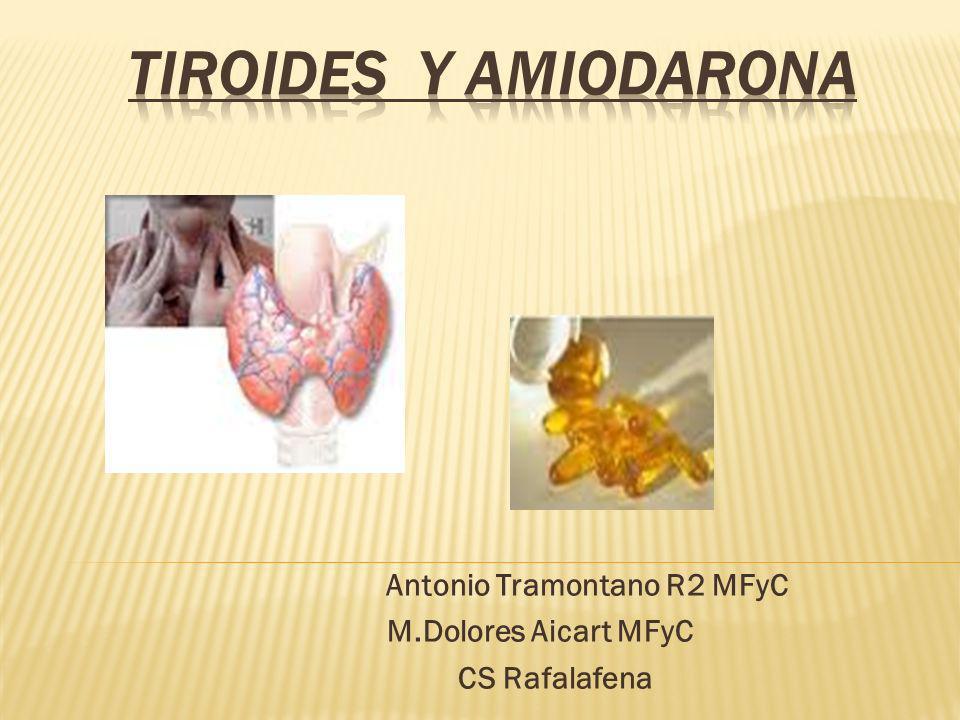 Antonio Tramontano R2 MFyC M.Dolores Aicart MFyC CS Rafalafena