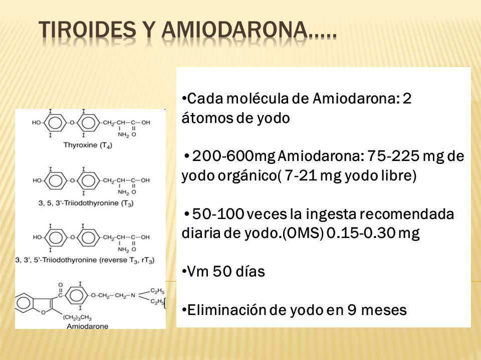 TiroideS y AmiodaronA…..