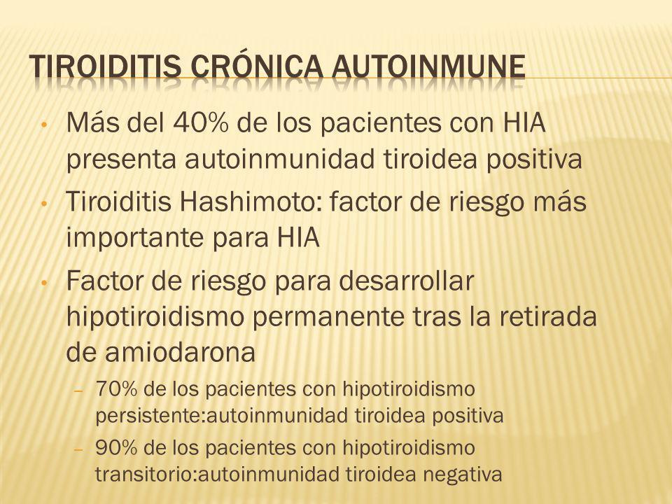 Tiroiditis crónica autoinmune