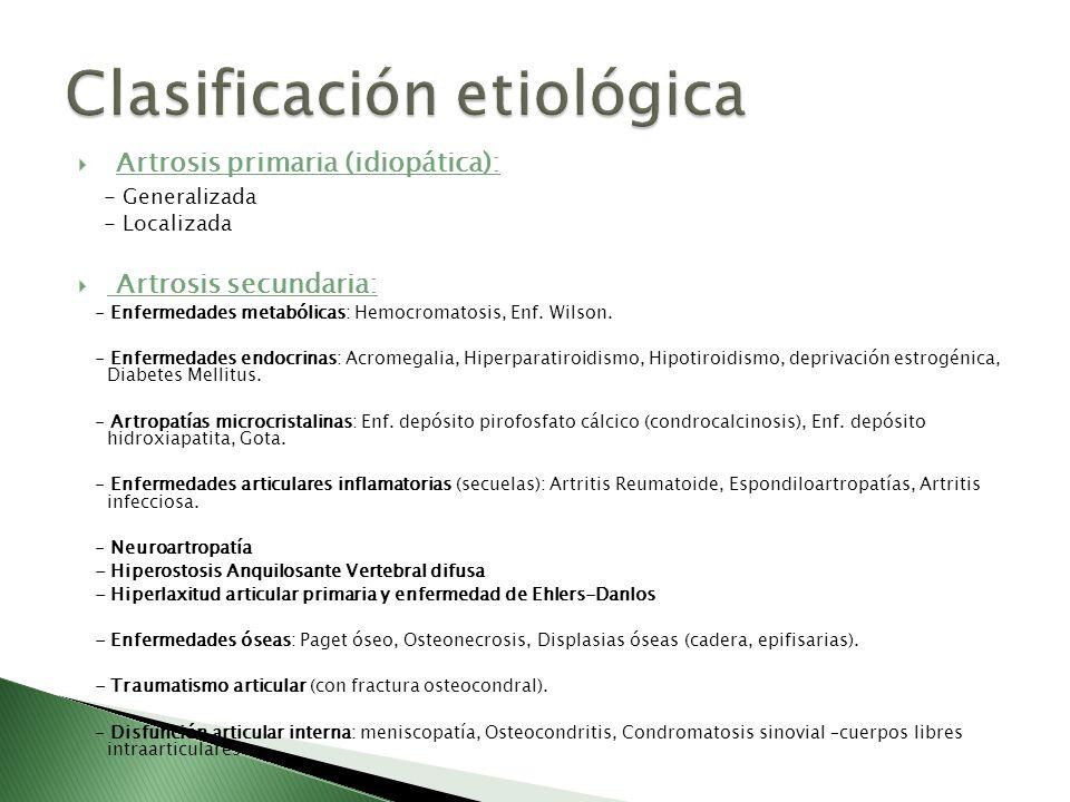 Clasificación etiológica