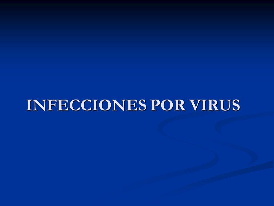 INFECCIONES POR VIRUS
