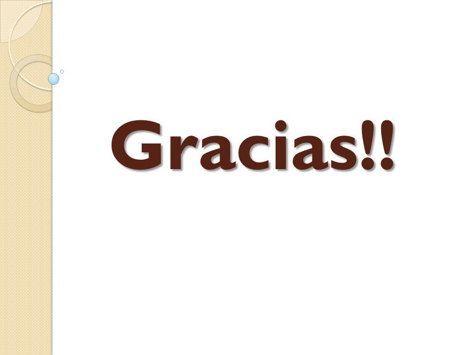 Gracias!!