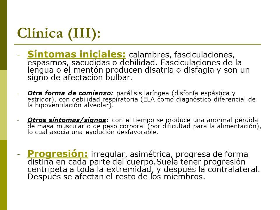 Clínica (III):