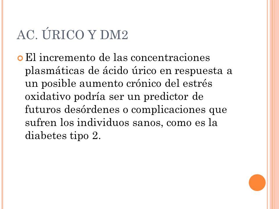 AC. ÚRICO Y DM2