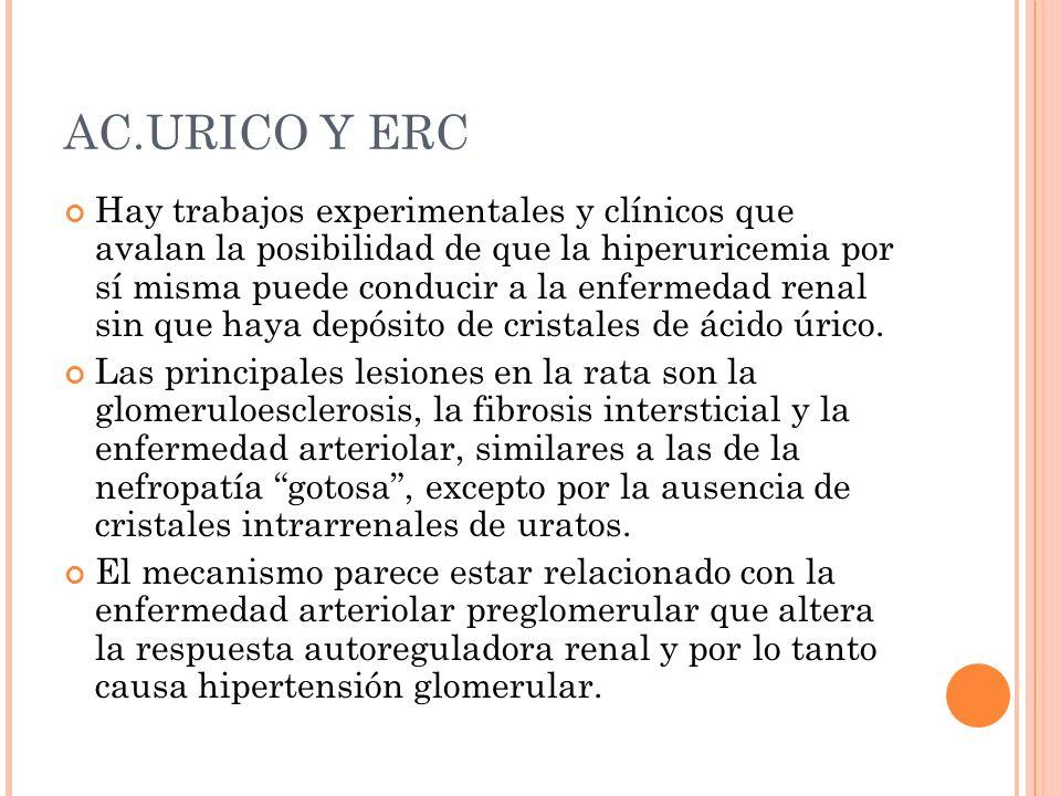 AC.URICO Y ERC