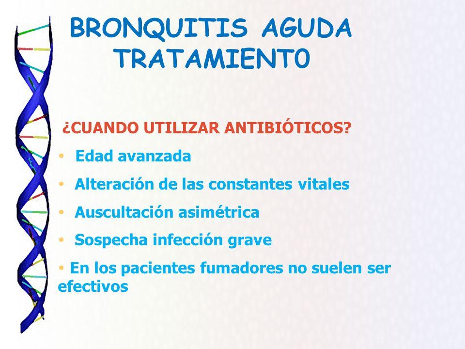 BRONQUITIS AGUDA TRATAMIENT0