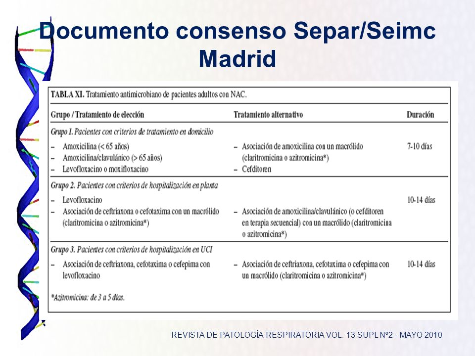 Documento consenso Separ/Seimc Madrid
