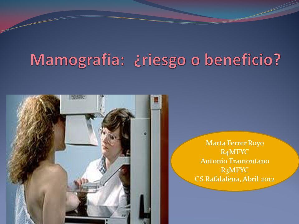 Mamografia: ¿riesgo o beneficio