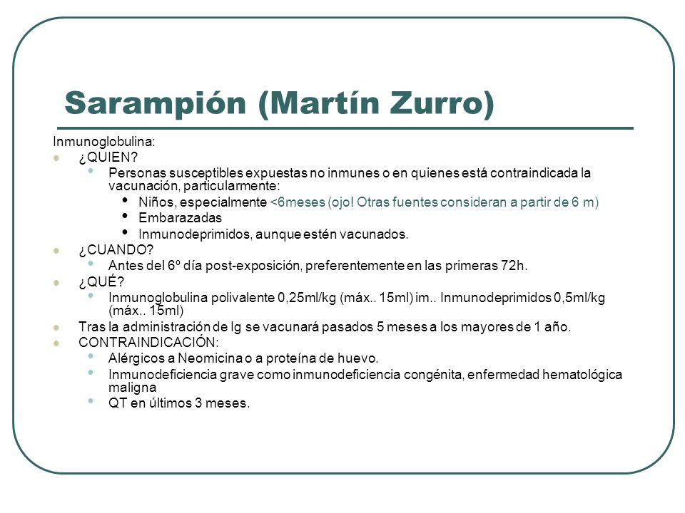 Sarampión (Martín Zurro)