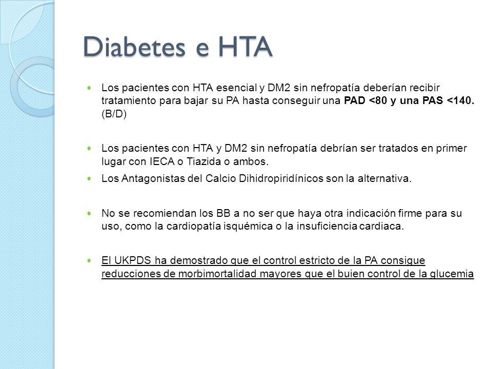 Diabetes e HTA