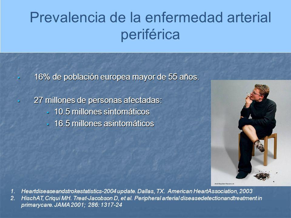 PREVALENCIA DE LA ENFERMEDAD ARTERIAL PERIFERICA