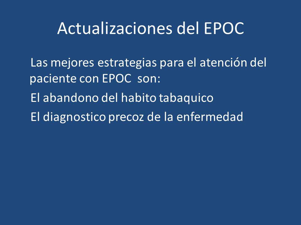 Actualizaciones del EPOC