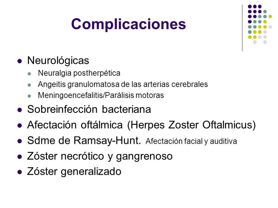 Complicaciones Neurológicas Sobreinfección bacteriana