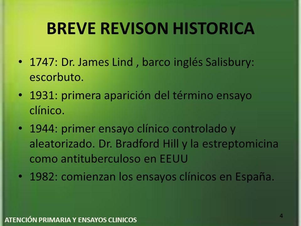 BREVE REVISON HISTORICA