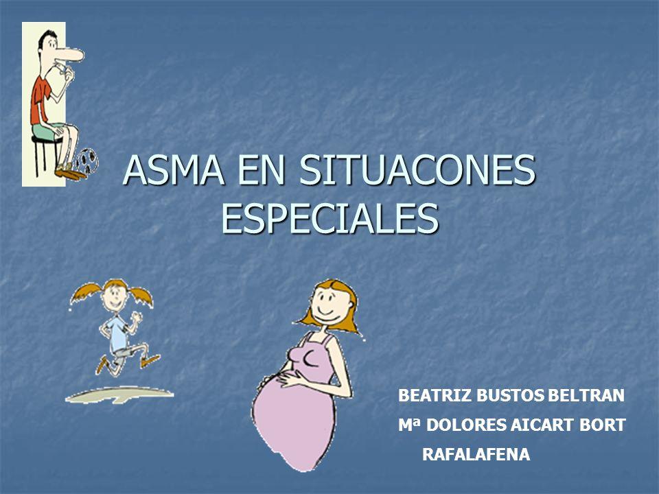 ASMA EN SITUACONES ESPECIALES
