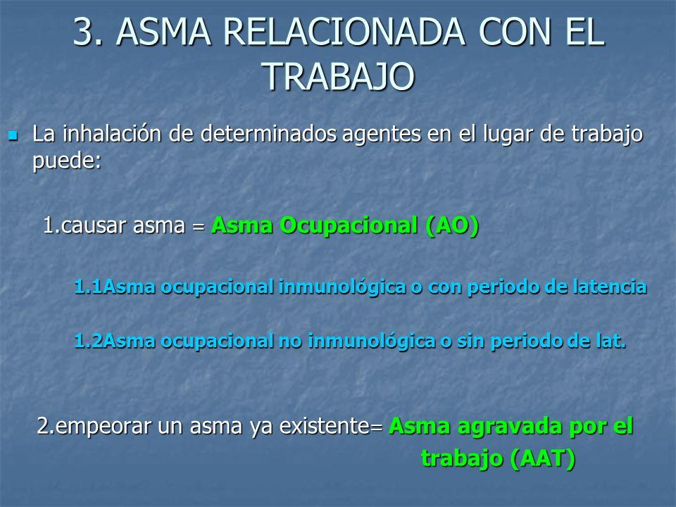 3. ASMA RELACIONADA CON EL TRABAJO