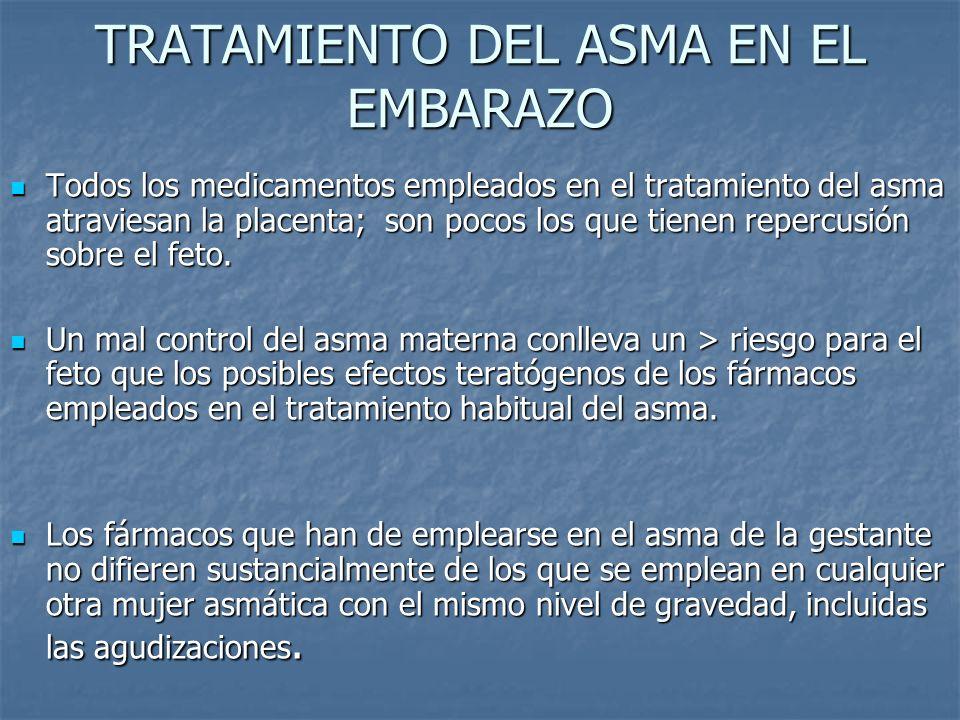 TRATAMIENTO DEL ASMA EN EL EMBARAZO