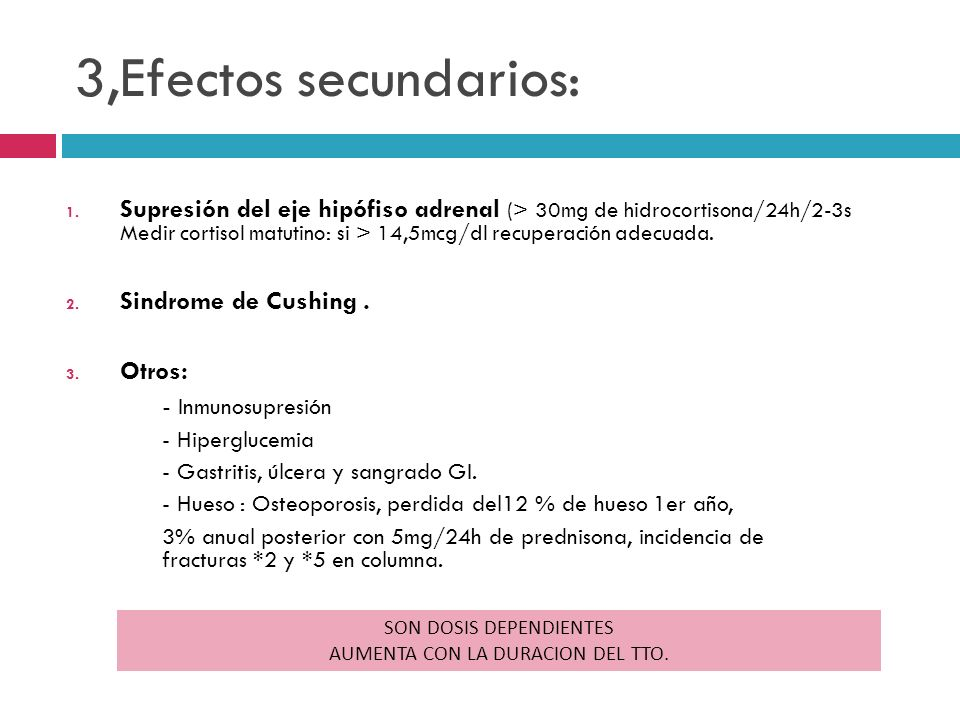 3,Efectos secundarios: