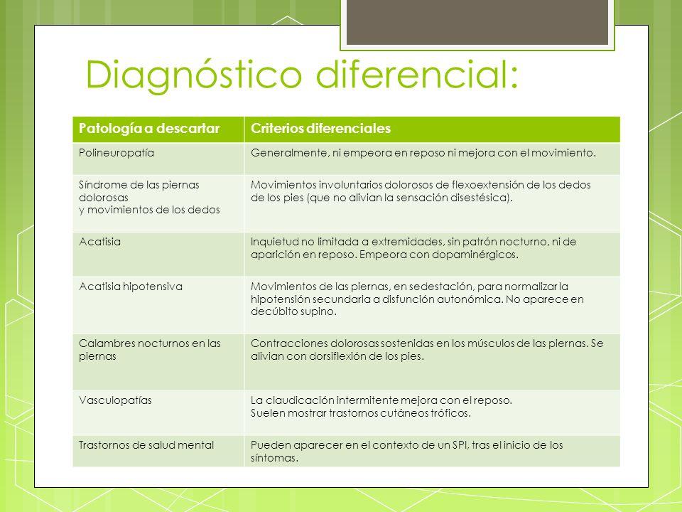Diagnóstico diferencial: