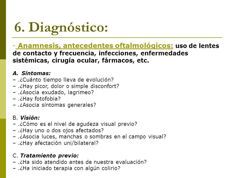6. Diagnóstico: