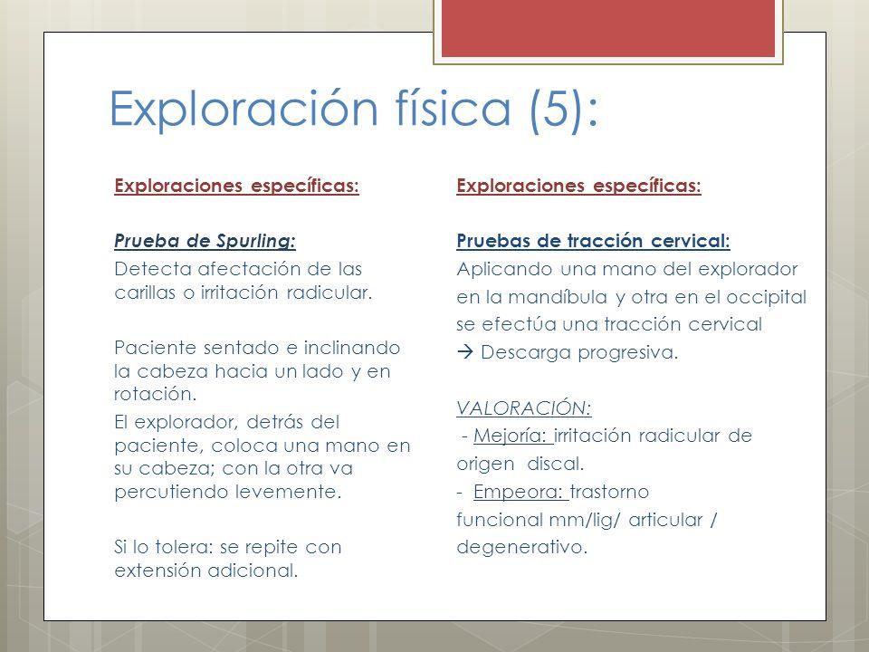 Exploración física (5):